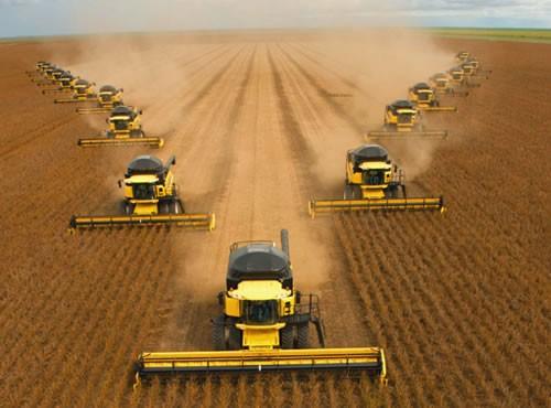 L'agriculture mécanisée au Brésil