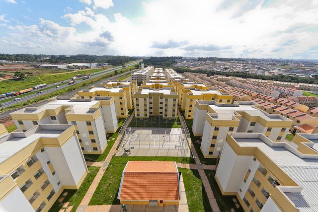 Le Chantier des habitations populaires au Brésil