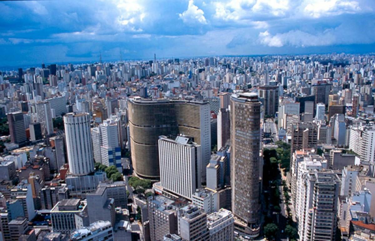 La metropole de São Paulo le grand centre économique sudaméricain